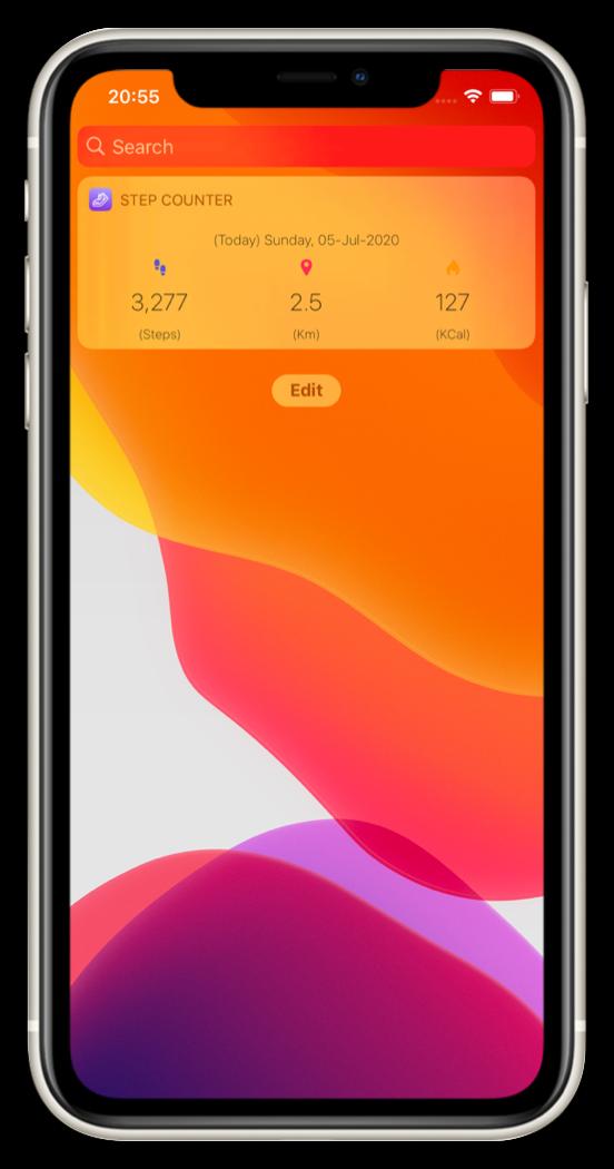 stepcounter_widget_screen